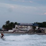 Surfing in San Juan