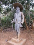 this isn't Mohout, this is a statue of the guy who came to Laos to make a monument for Mohout.