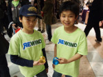 Some upcoming yo-yo stars wearing Rewind colors