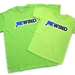 Some of the original Rewind Tees